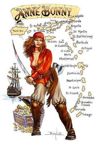 Anne Bonny – Pirate – A Woman Before Her Time